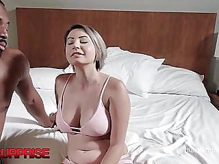 21yo Cheating Cara Dark Gets Dicked By Big Black Cock & Loves it! pornheed blonde blowjob big boobs