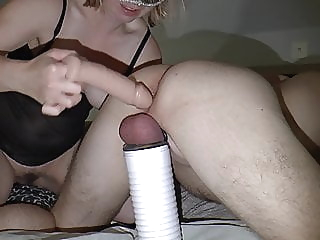 Cock milking prostate massage with toys pornheed amateur anal sex toy
