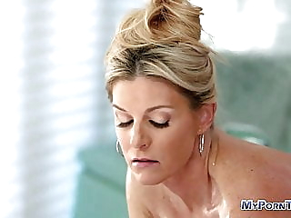 Blonde milf fucked after hot massage pornheed blonde hardcore pornstar