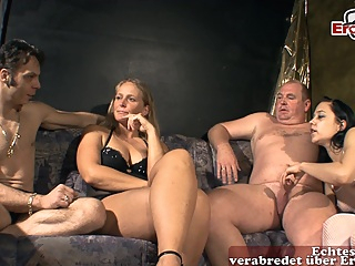 german couple swinger party with normal housewifes and girlfriends pornheed amateur brunette german