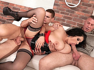 Three The Hard Way - Natasha Sweet, Dellon , and Max Dyor - Scoreland pornheed bbw big ass big tits