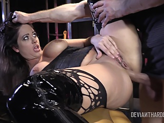 Devianthardcore Holly Heart pornheed anal bdsm big tits
