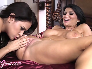 GirlGrind - Romi Rain And Vanessa Veracruz pornheed big tits brunette hd