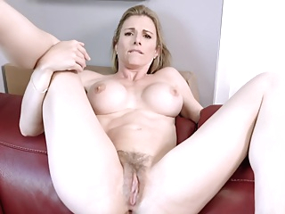 Fucking my Step Mom in the Ass while she is Stuck to the Couch - Cory Chase pornheed amateur anal big tits