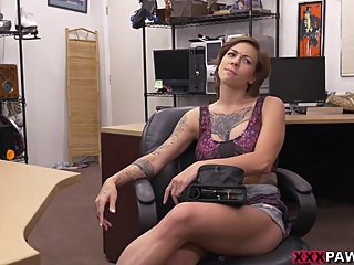 Harlow Harrison in Harlow gets needled and inked pornheed amateur big tits brunette